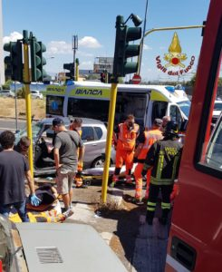 Roma: Incidente stradale