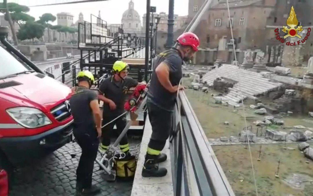Roma: soccorso a persona