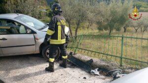 Rieti: incidente stradale
