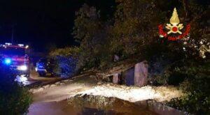 Latina: interventi per condizioni meteo avverse