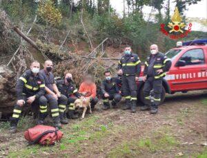 Latina: salvataggio cane