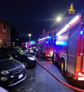 Roma: incendio appartamento