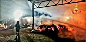 Latina: incendio in una azienda agricola