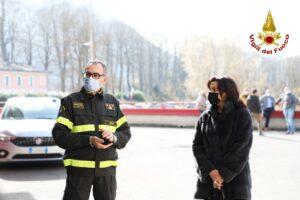 Rieti: il Prefetto visita i Vigili del Fuoco