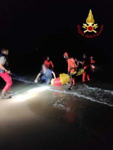 Roma: salvataggio di due pescatori